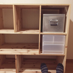 DIY/収納の工夫/部屋作り(部屋づくり)/部屋作り 友達のオーダーで棚を。◎