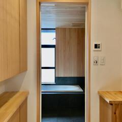 造り付け収納家具/造作家具/脱衣室/床暖房/ヒートショック対策/造り付け収納/... ミニマリストの方やシンプリストの方にもお…