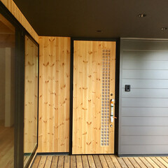 自然素材の家/ソーラーシステムそよ風/土間/薪ストーブ/ウッドデッキ/アウトドアライフ/... 富士山一望の土間に薪ストーブがある自然素…