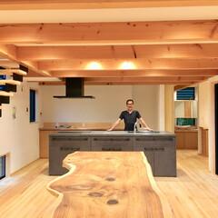 自然素材の家/ソーラーシステムそよ風/湿気対策/暑さ対策/土間/薪ストーブ/... 自然素材で建てたソーラーシステムそよ風の…