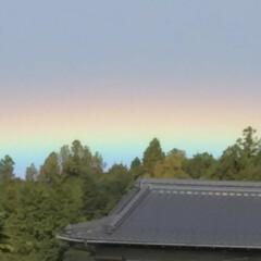 虹/おでかけワンショット 珍しい虹みたので撮ってみた