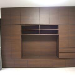 TV収納棚/キッチン収納/本棚 個人のお客様のリビング、書斎、キッチンの…