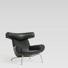 リビングチェア/北欧家具/ウェグナー ■OX チェア 品番: CH9501 サ…