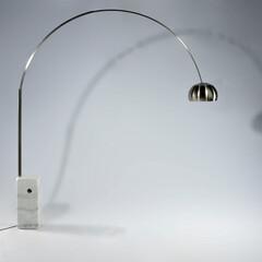 ランプ/カスティリオーニ兄弟/大理石 ■アルコランプ 品番: ECF601 サ…