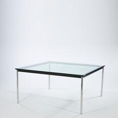コルビジェ/強化ガラス/ダイニングテーブル ■LC10ダイニングテーブル 品番: D…