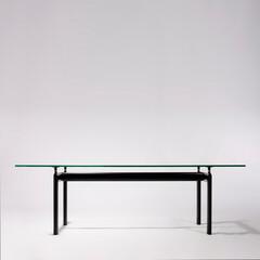 コルビジェ/強化ガラス/ダイニングテーブル ■LC6 ダイニングテーブル 品番: D…