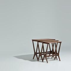 サイドテーブル/ヨハネス・アンダーセン/ネストテーブル ■No.20 ネストテーブル 品番: C…