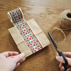 decolfa/デコルファ/DIY/DIY女子/簡単DIY/ラッピング/... プレゼント用のラッピングも、簡単ひと手間…