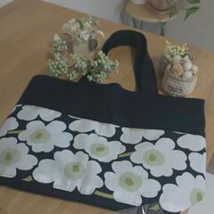noriさんのトートバッグ/マリメッコ柄のトートバッグ/素敵便 nori☆☆☆☆さんのトートバッグが届き…