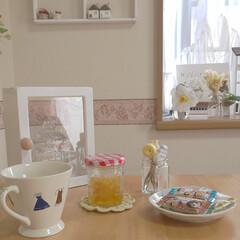 白椿/柚子シロップ/キッチン雑貨/雑貨/住まい/暮らし 柚子シロップを空き瓶に入れました❤️