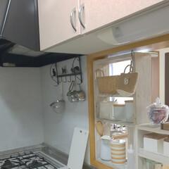キッチンリセット/キッチンカウンター/おすすめアイテム/キッチン雑貨/収納/キッチン/... お盆前にキッチンリセットしました✨  U…