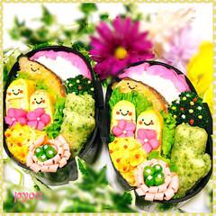 フード 娘ちゃん達のお弁当(*´︶`*)❤(1枚目)