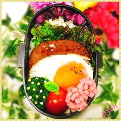 娘弁当/お弁当 中1娘のお弁当♡(❊´︶`❊)。۞·: