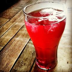 夏/シソジュース/夏バテ予防/手作りドリンク/簡単ジュース 夏にはシソジュース! 色も鮮やかでお客様…