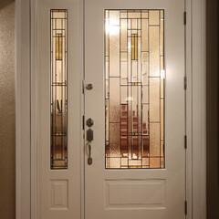 玄関ドア/輸入ドア 1912年より米国ワシントン州の森林でド…