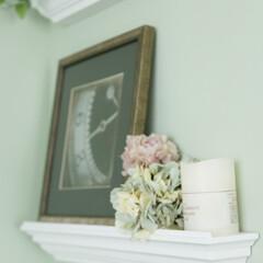 壁掛け棚/モールディング/見せる収納/小物置き/棚/収納棚 天井と壁の間や窓廻りを縁取り、住まいの中…