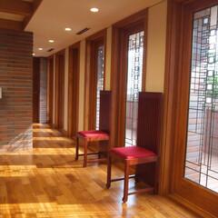 木製サッシ/アートガラス/窓/新築/フランクロイドライト/住まい 米国窓メーカー「アンダーセン」のフランク…