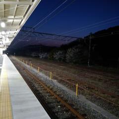春のフォト投稿キャンペーン/フォロー大歓迎/風景 仕事の帰りです(*^^*)  今日は電車…