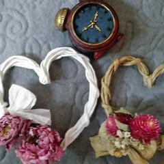 ドライフラワー/バレンタイン2020/キャンドゥ/100均/雑貨/ハンドメイド/...  こんにちは(*^^*)  先日の紙ひも…(2枚目)