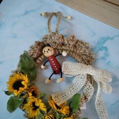 フォロー大歓迎/LIMIAファンクラブ/至福のひととき/雑貨/LIMIA手作りし隊/ハンドメイド/... ミニひまわりを見つけたので (切り花)(…