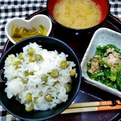 暮らし   こんにちは(*^^*)  昨日のお豆…
