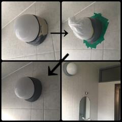 ニッペホーム/DIYペンキ/ペンキ塗り/DIY/住まい 風呂場のカビがなかなか取れない窓枠 ペン…