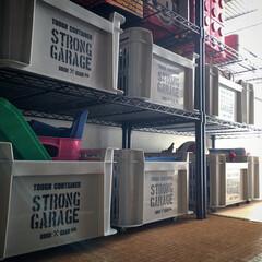 コロコロ/スチールラック/オモチャ収納/コンテナボックス/DIY/収納 子供部屋のオモチャ収納の1番下のボックス…