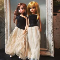 手芸部/ドレス作り/リカちゃん/リメイク/ファッション 私の履かなくなった チュールスカートから…