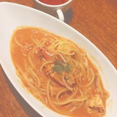 フード/グルメ/おでかけ 家族でスパゲティのお店にきました!🍝 (1枚目)