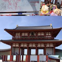 平城宮跡/GW/おでかけ 天気に誘われて(≧∀≦) 奈良の平城京跡…