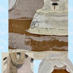 雨季ウキフォト投稿キャンペーン/ハンドメイド/ファッション/naniiro/ダブルガーゼ 伊藤尚美さんデザインのnaniiroシリ…