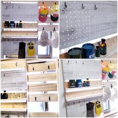 100均/合板/SPF材/収納ボックス/ゴミ箱/窓枠DIY/... 急にスイッチが入り ここのところ休みのた…(10枚目)