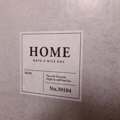 汚れを隠すため/キッチン/インテリア/モルタル柄/リメイクシート/DAISO/... Kitchen横の壁  汚れがひどいこと…(5枚目)