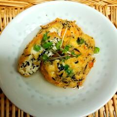 簡単メニュー/夕飯/ミックスベジタブル/ひじき/木綿豆腐/わたしのごはん 仕事に行く前に 木綿豆腐を キッチンペー…