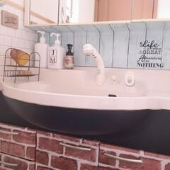 ジェームズマーティン フレッシュサニタイザー 1000ML シャワーポンプ(その他ダイエット、健康)を使ったクチコミ「我が家の洗面所 本当に狭いのです( ̄∀ ̄…」