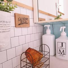 ジェームズマーティン フレッシュサニタイザー 1000ML シャワーポンプ(その他ダイエット、健康)を使ったクチコミ「我が家の洗面所 本当に狭いのです( ̄∀ ̄…」(2枚目)