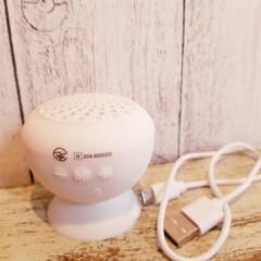生活雑貨/お風呂/防滴スピーカー/600円商品/Bluetoothspeaker/100均/... こちらで知ったDAISOの 防滴タイプの…(4枚目)