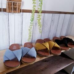 購入品/インテリア/DIY女子/雑貨/玄関/追加購入/... 年齢と共にペタンコ靴&サンダル ばかりに…(1枚目)