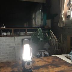 バッテリー/防災グッズ/LEDライト/DIY 前回の台風では停電して 役に立ったランタ…