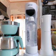 ドリンクメイト スターターセット 家庭用炭酸水メーカー 炭酸水メーカー(炭酸水メーカー)を使ったクチコミ「おうち時間を過ごすのに お役立ち家電  …」