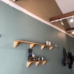 ブライワックス/ミルクペイントforウォール/中古物件リノベーション/中古物件/DIY 中古物件リノベーション  壁面はターナー…