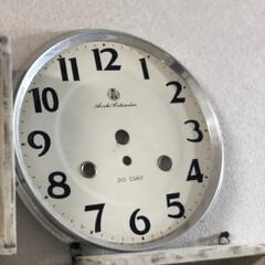 蚤の市戦利品/蚤の市/時計文字盤/フォロー大歓迎/雑貨/わたしのお気に入り 関西蚤の市でゲットした 時計の文字盤  …
