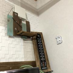 時計/ベニヤ板/端材/DIY/雑貨 端材のベニヤ板を使って 時計をDIY  …(1枚目)