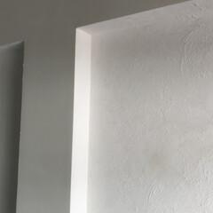 アンティーク エイジング 塗料 P-Effector デコボコベース(ペンキ、塗料)を使ったクチコミ「中古物件リノベーション  棚をDIY 背…」(2枚目)