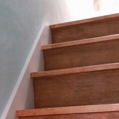 アンティークワックス 120g ターナー色彩 | ターナー(ワックス)を使ったクチコミ「中古物件リノベーション 階段塗装できまし…」(2枚目)