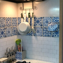 アルミニウムキッチンシート 台所 レンジまわりの簡単リフォーム DIY 壁紙デコレーション ALC-9(ウォールステッカー)を使ったクチコミ「我が家のキッチンのシートは dream …」
