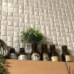 リメ瓶/栄養ドリンク空き瓶/フォロー大歓迎/ペット/ハンドメイド/雑貨 リメ瓶 リメイク瓶  夏に旦那さんがよく…