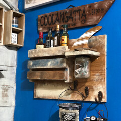 ディスプレイ棚DIY/ディスプレイ棚/フォロー大歓迎/DIY/雑貨/インテリア/... お気に入りにディスプレイ棚はDIY ワー…