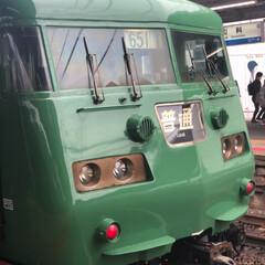レトロ/車両/電車/フォロー大歓迎/おでかけ/風景/... 京都山科へ ホームで見た電車 レトロな雰…