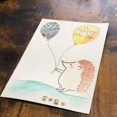 手描きイラスト/年賀状/お正月2020/おすすめアイテム/フォロー大歓迎 今年の年賀状  手描きイラストで作りまし…